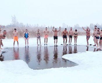 žiemos maudynės nuo hipertenzijos)